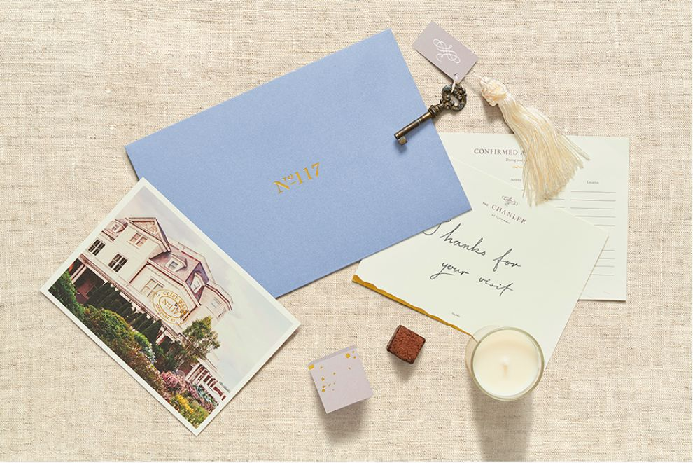 The Chanler Simple Package Design