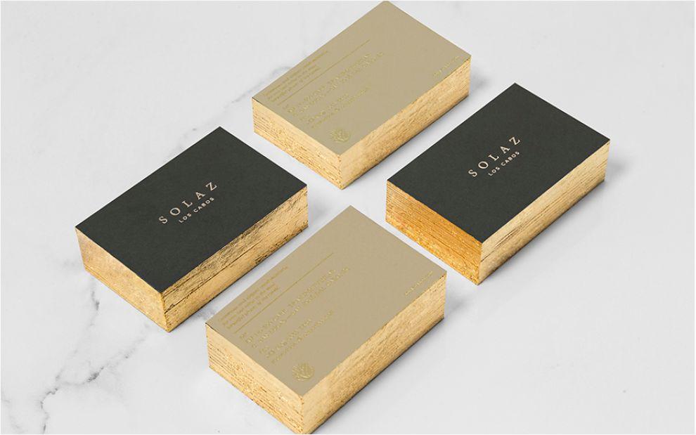 Solaz Elegant Package Design