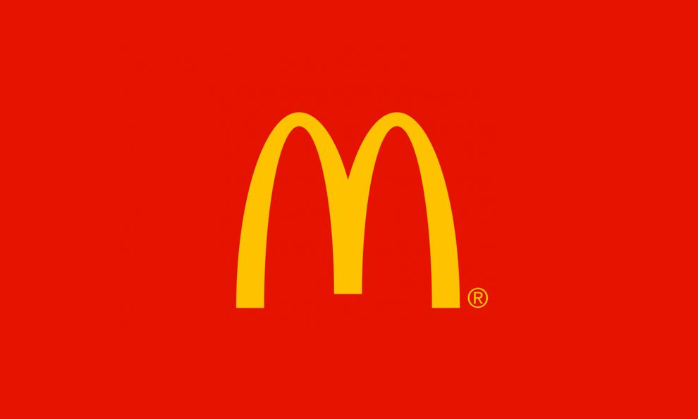 McDonald's Logo Red Background