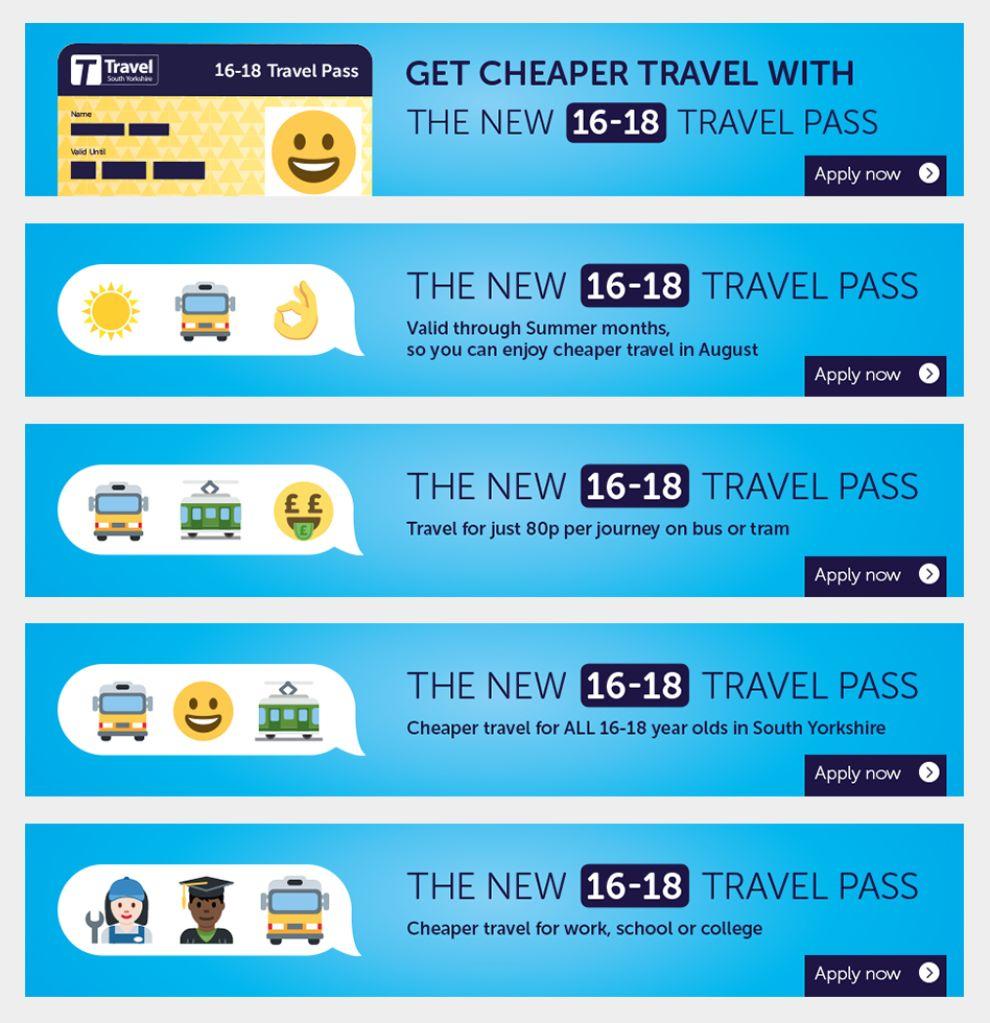 Travel South Yorkshire Fun Print Design