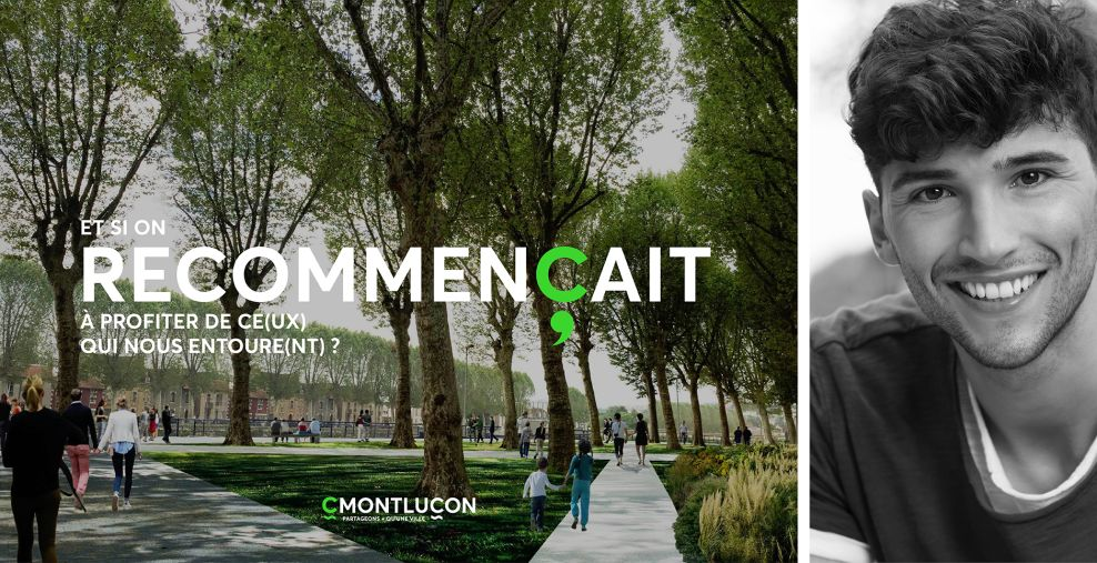 The City of Montluçon Great Print Design