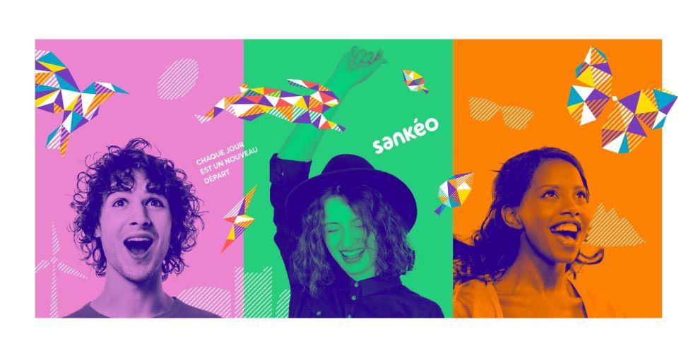 Sankéo Colorful Print Design