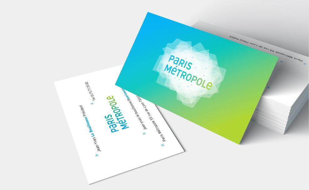 La Métropole Parisienne Print Design