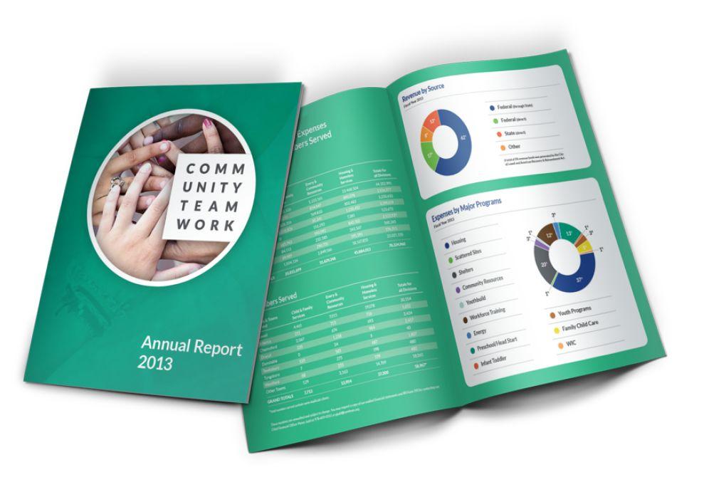 One Brand One Community Corporate Print Design