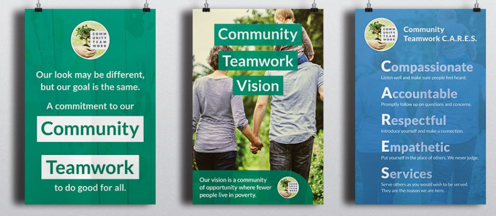 One Brand One Community Print Design
