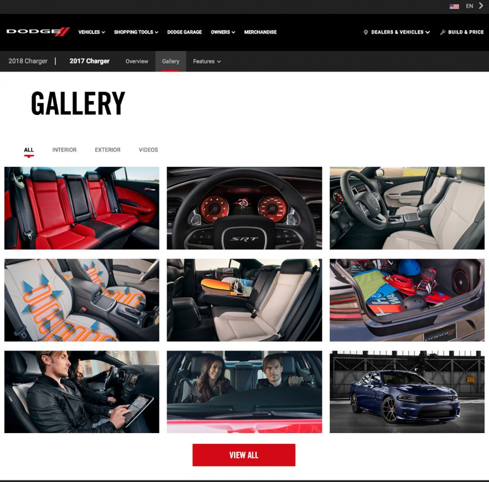 Dodge Charger Elegant Gallery Page