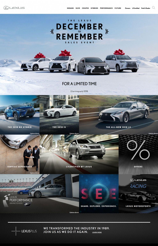 Lexus Corporate Homepage