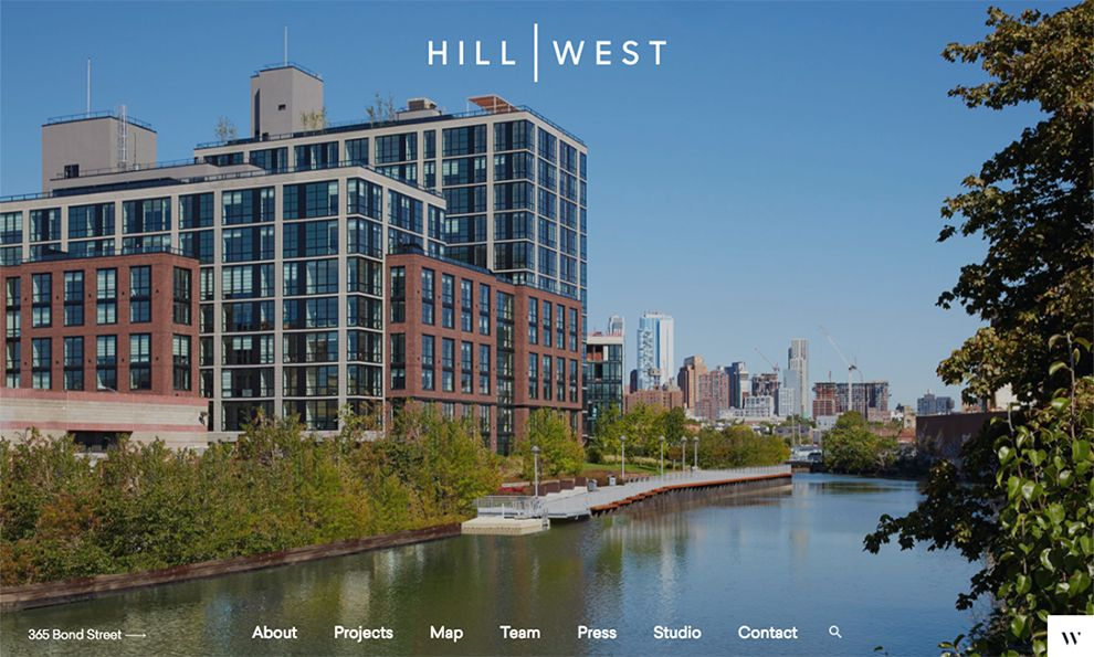 Hill West Architects Stunning Website Design