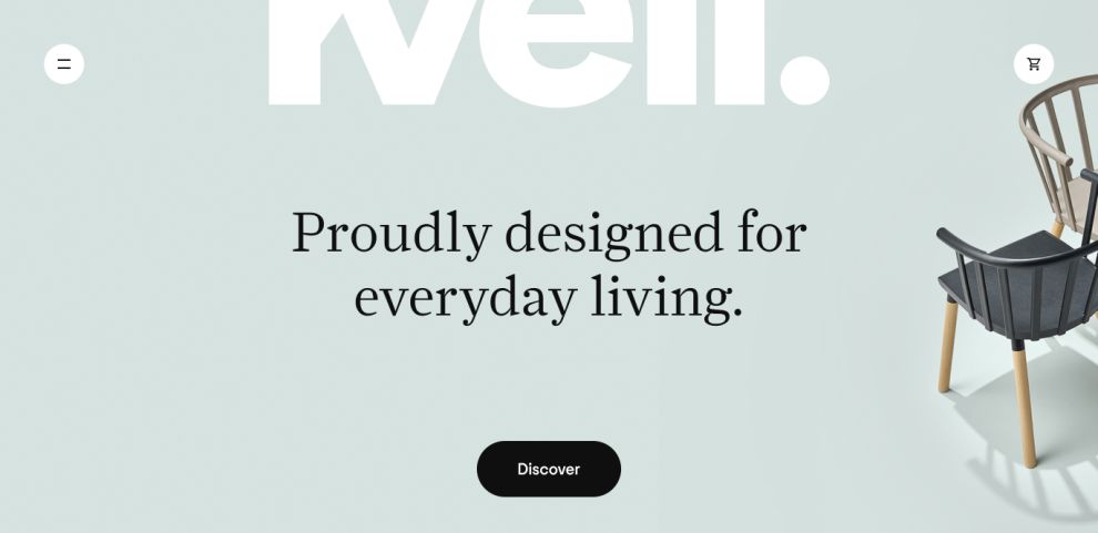 Kvell Elegant Homepage