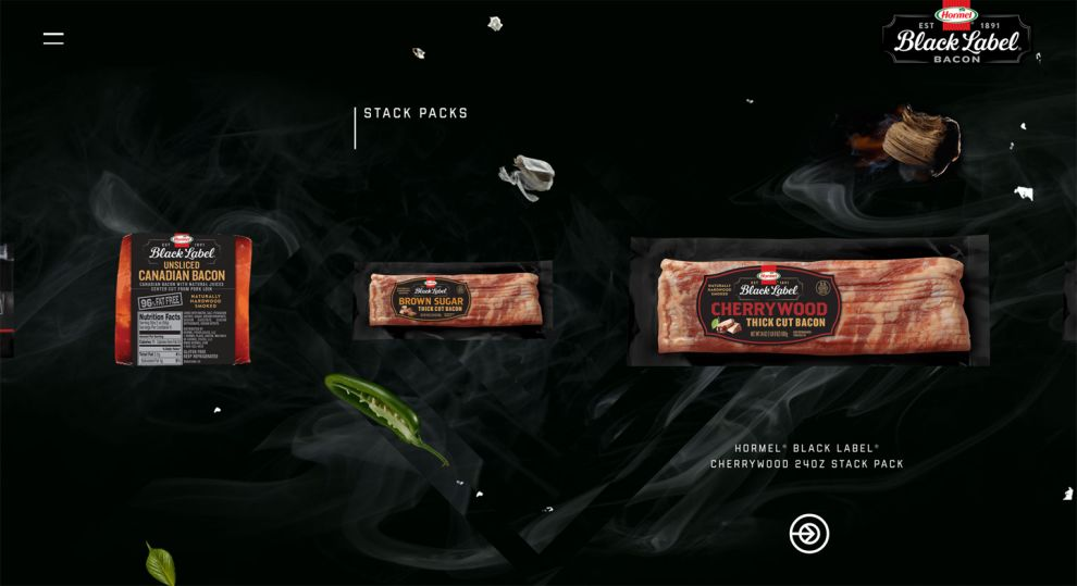 Black Label Bacon Gorgeous Product Page
