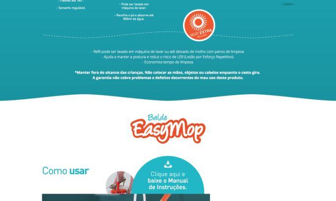 EasyMop Colorful Homepage