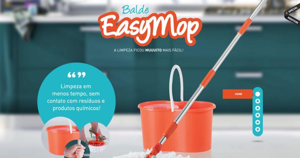 EasyMop Colorful Website Design