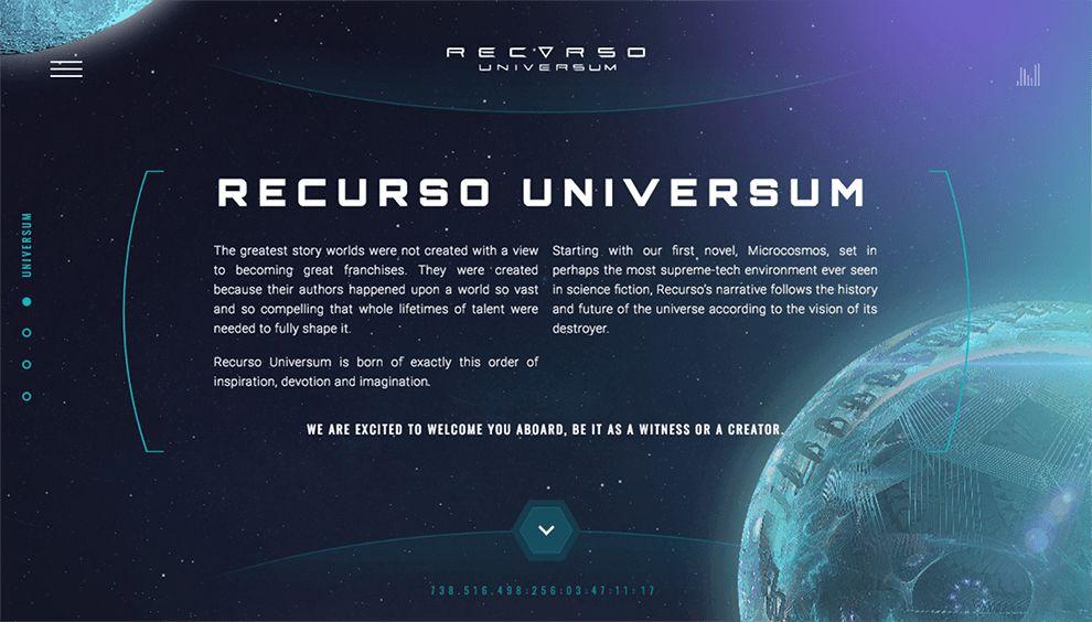 Recurso Universum Beautiful About Page