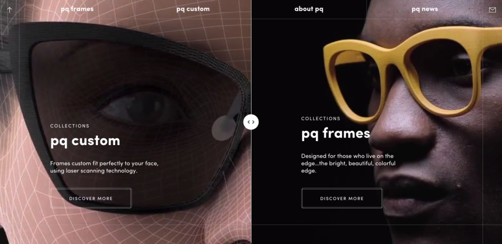 pq by Ron Arad Awesome Product Page