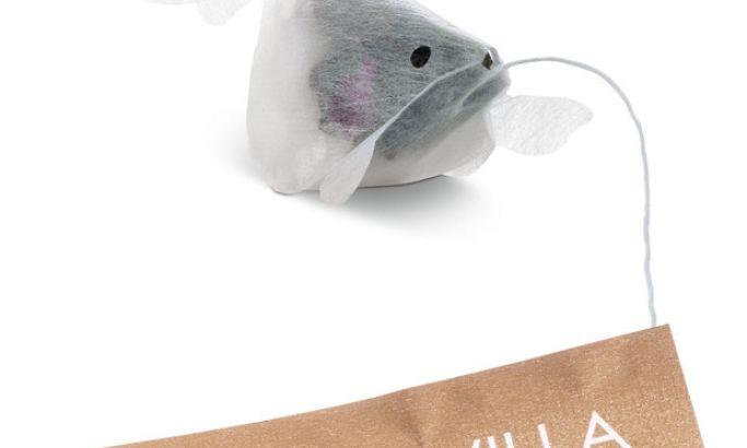Goldfish Tea Bags Fun Package Design