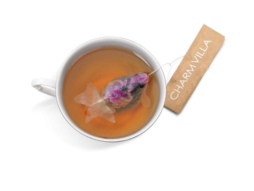 Goldfish Tea Bags Package Design