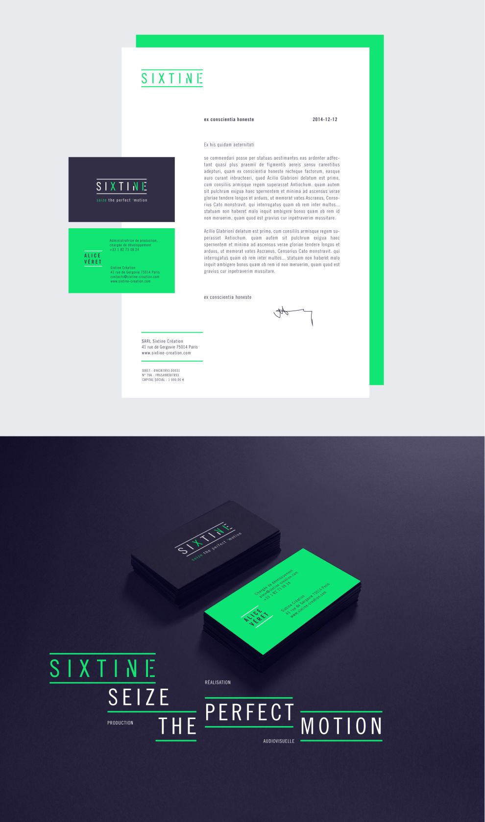 Sixtine Print Design
