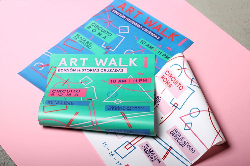 Art Walk Cool Print Design