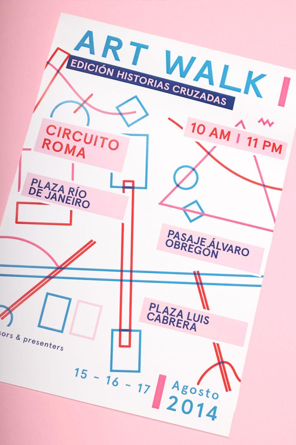 Art Walk Fun Print Design