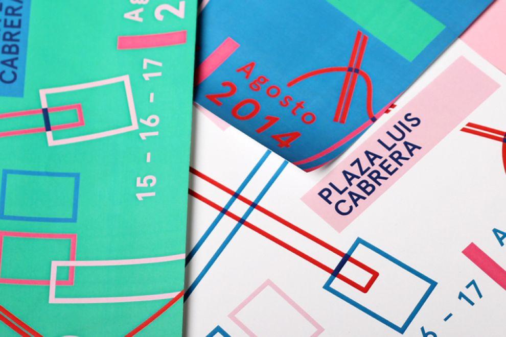 Art Walk Colorful Print Design