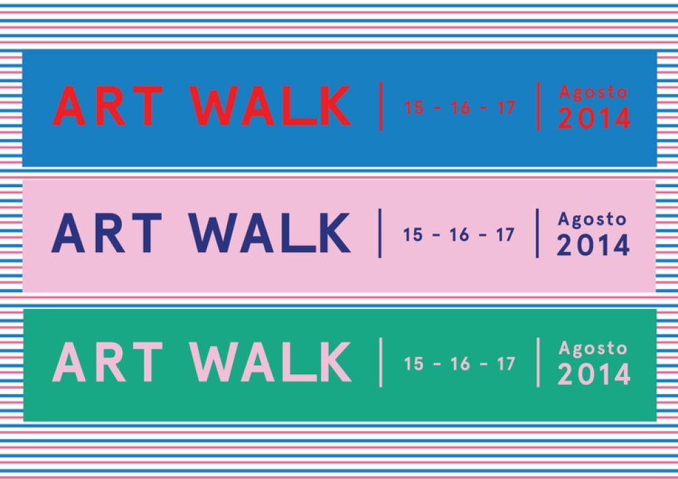 Art Walk Great Print Design