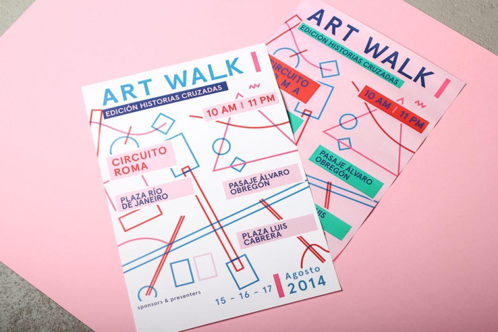 Art Walk Print Design