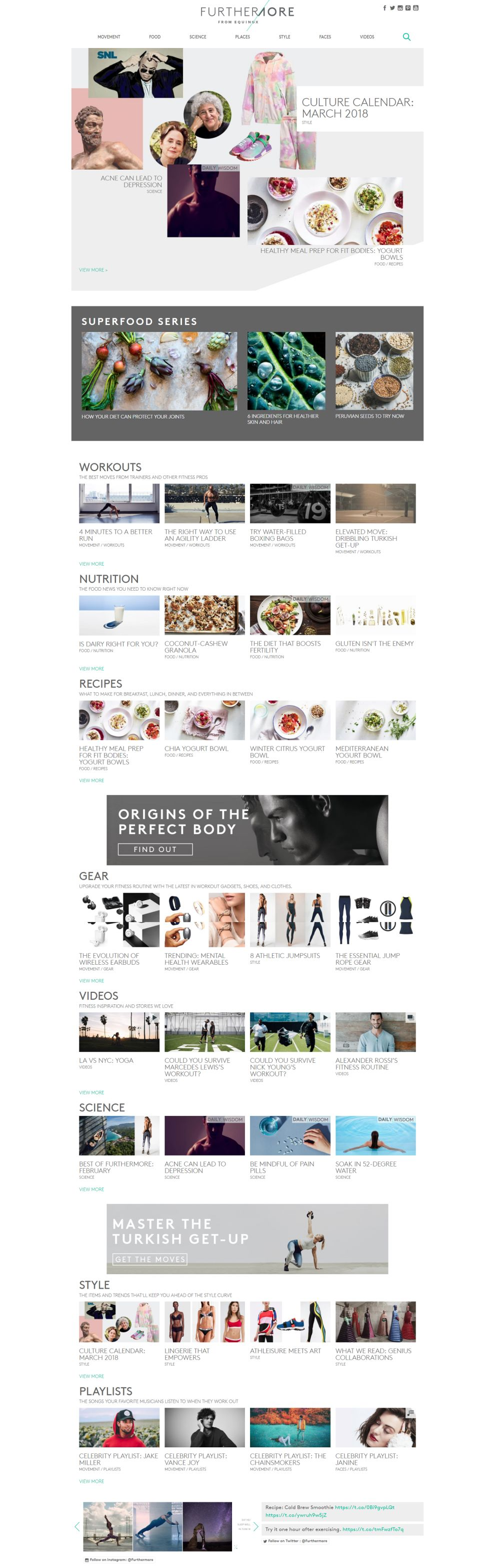 Furthermore from Equinox Best Website Design Homepage