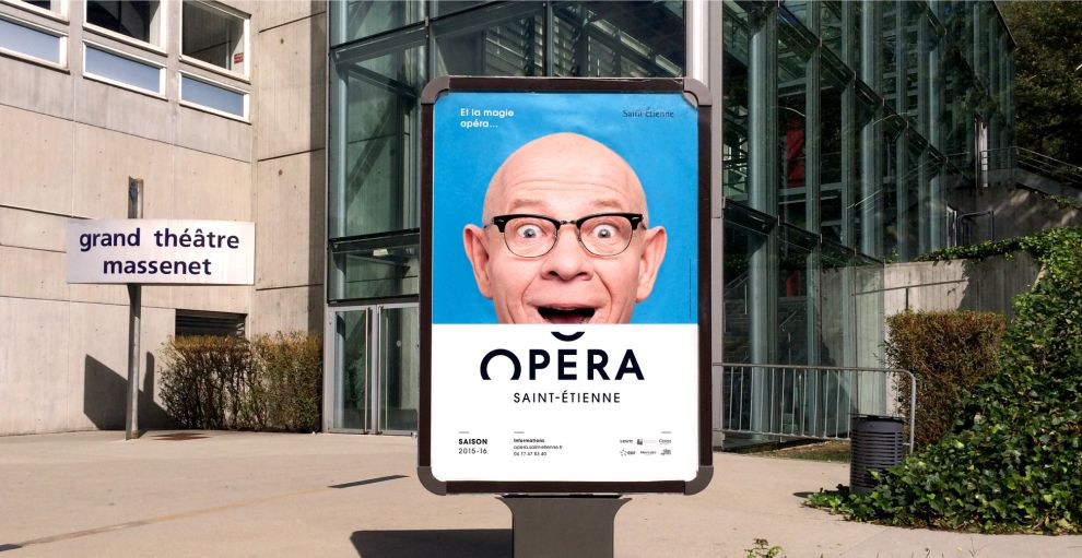 Opéra de Saint-Étienne Fun Print Design