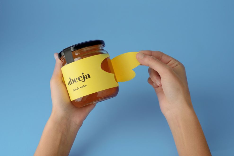 Abeeja Honey Bright Package Design