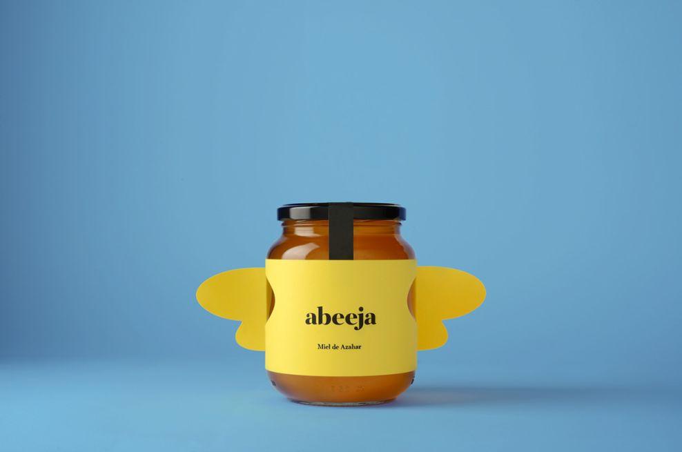 Abeeja Honey Simple Package Design