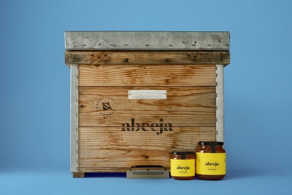 Abeeja Honey Package Design