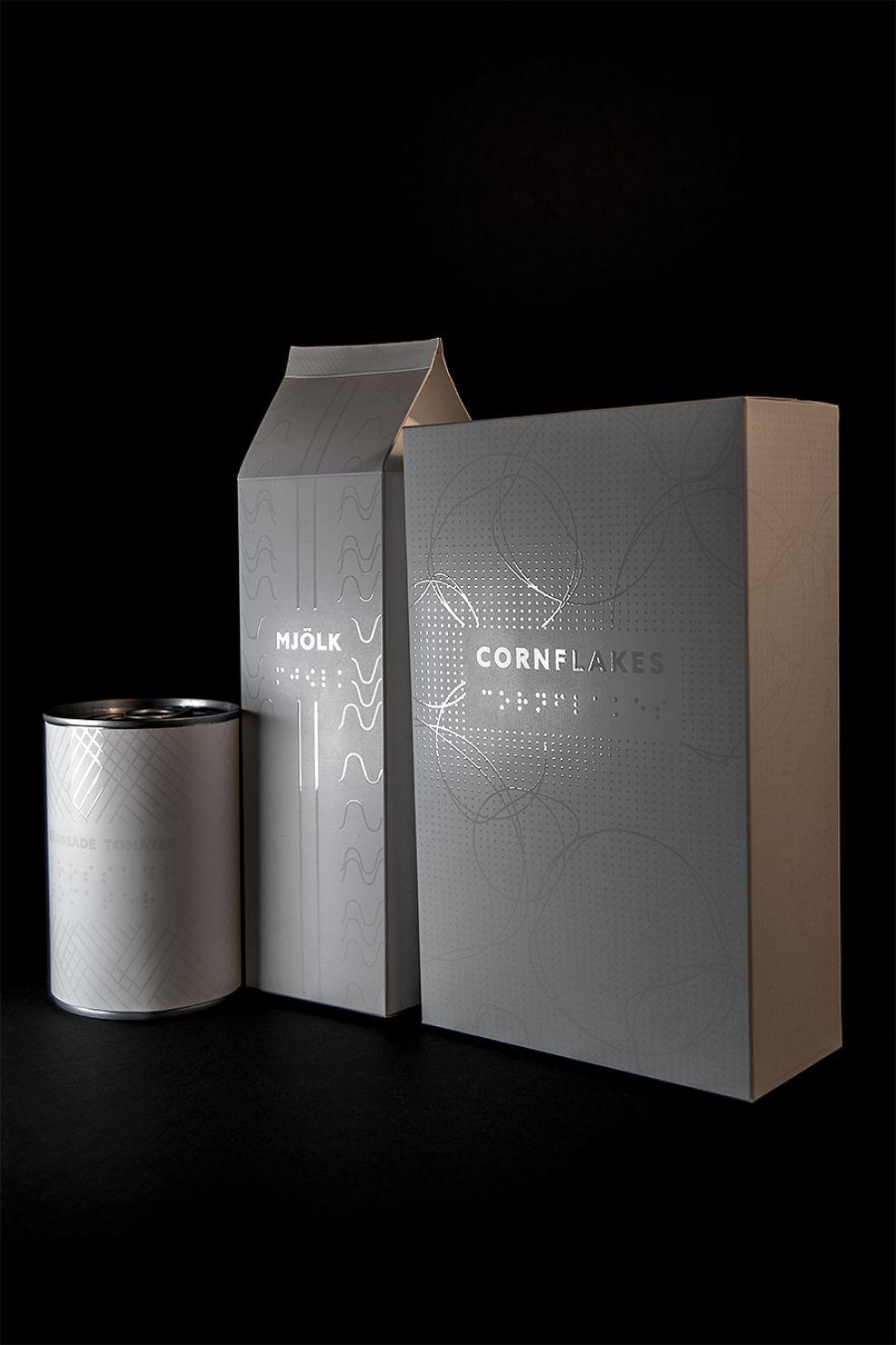 Color Me Blind Elegant Package Design