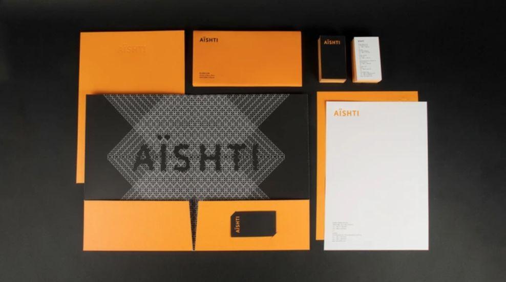 Aishti Identity Elegant Print Design