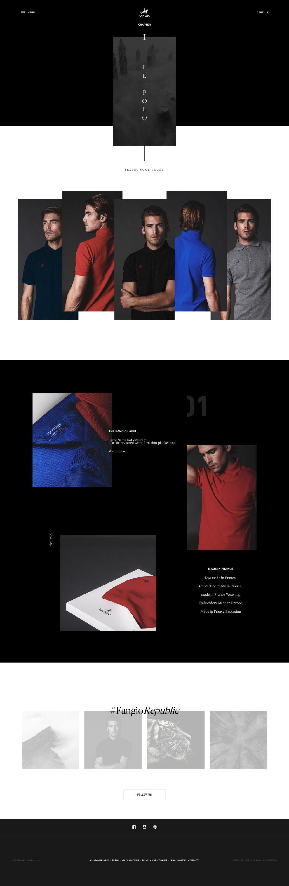 Fangio Elegant Product Page