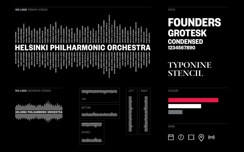 Helsinki Philharmonic Orchestra Stunning Print Design