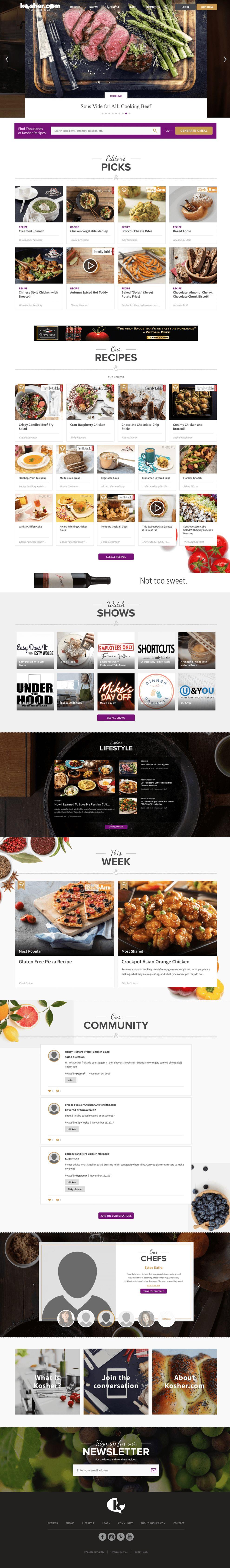 Kosher Beautiful Homepage