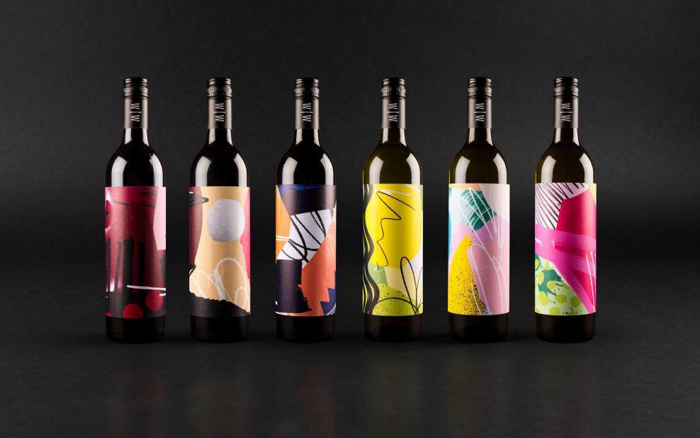 Wayward Wines Elegant Print Design