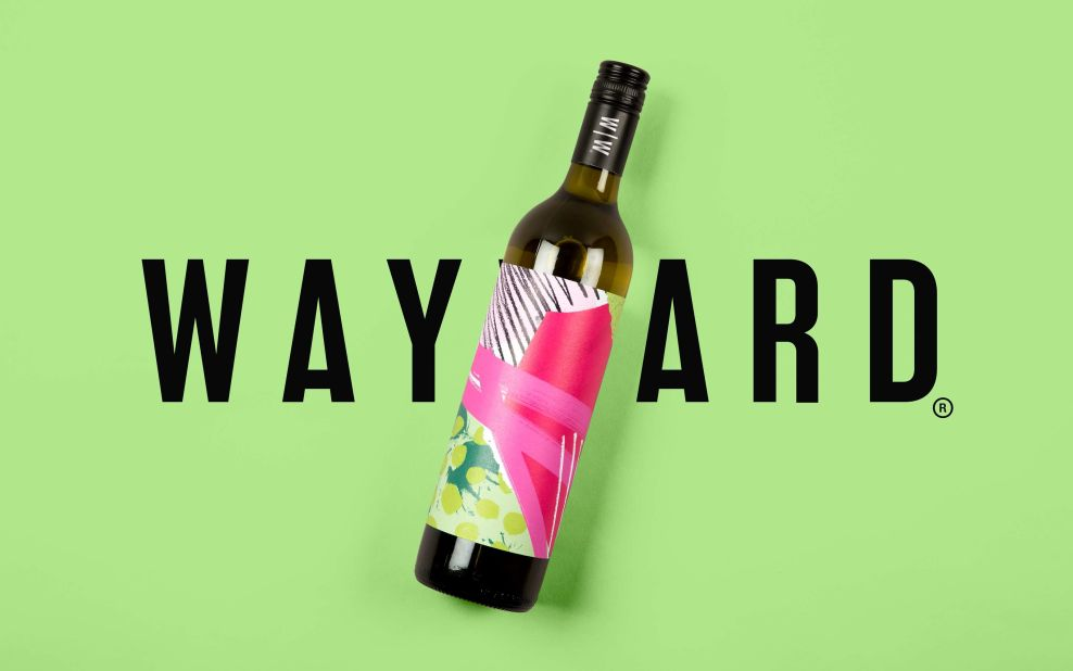 Wayward Wines Print Design