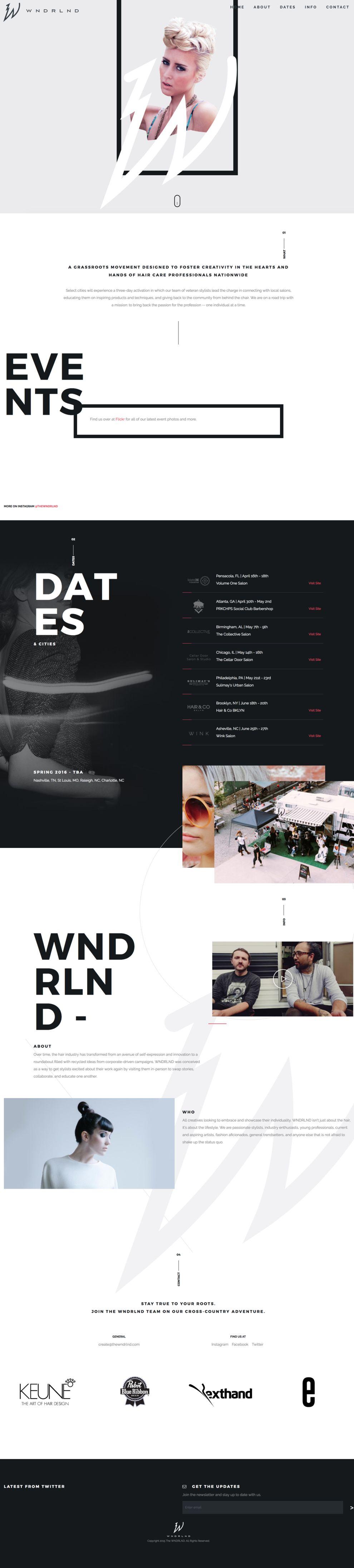 WNDRLND Gorgeous Website Design
