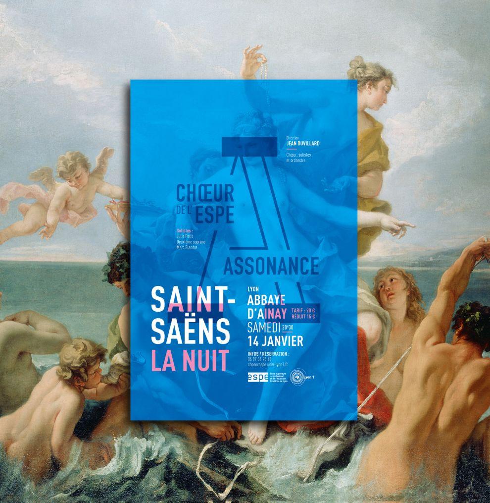 Choeur Assonance Modern Print Design