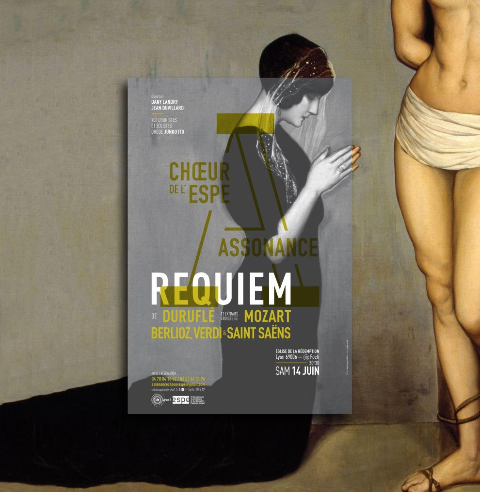Choeur Assonance Contemporary Print Design
