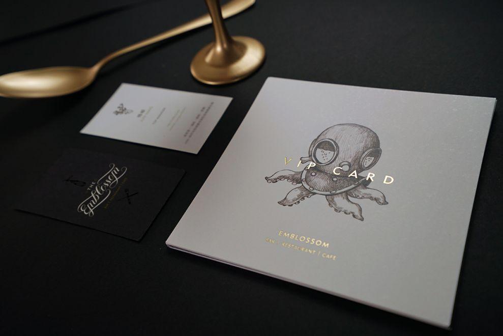 The Emblossom Print Design