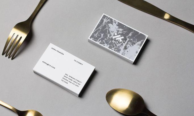 Yx Cutlery Identity Stunning Print Design