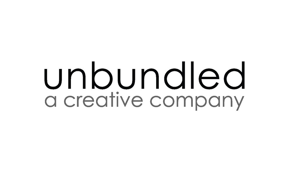 Unbundled Typographic Logo Design