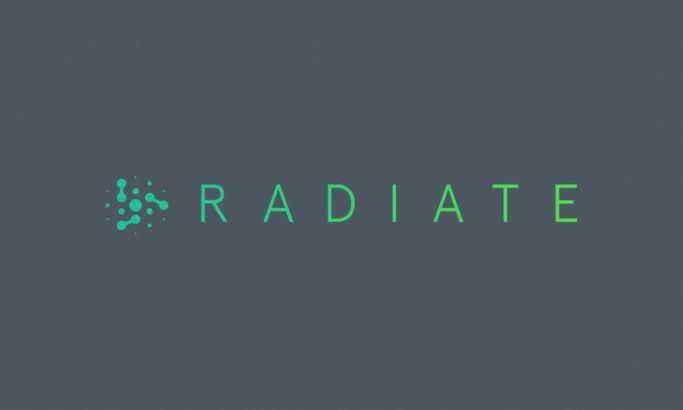 Radiate Inc Beautiful Logo Design