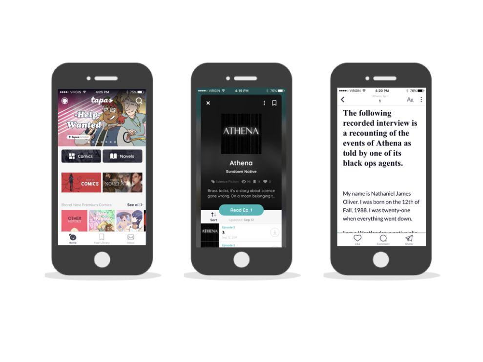 Tapas Engaging App Design