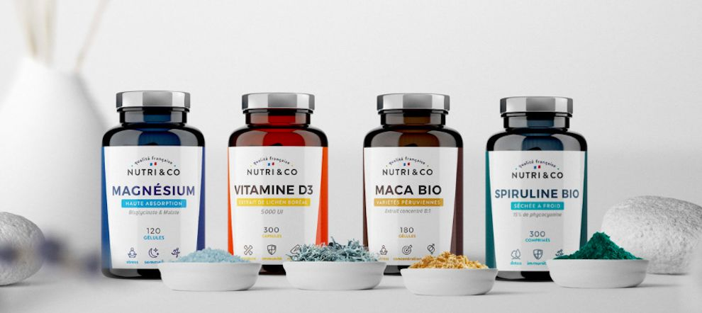 Nutri and Co. Clean Package Design