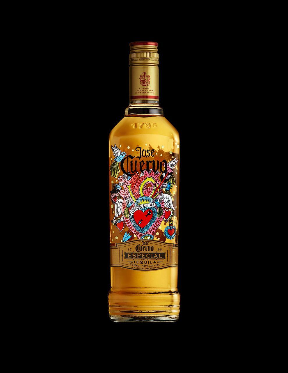 Jose Cuervo's 222 Vibrant Bottle Design