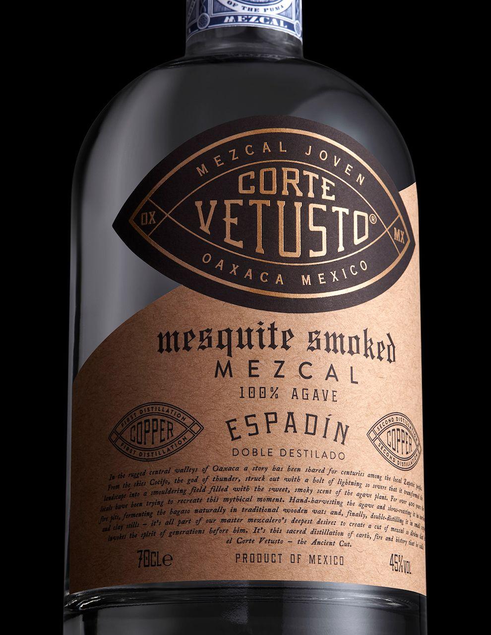 Corte Vetusto Package Design