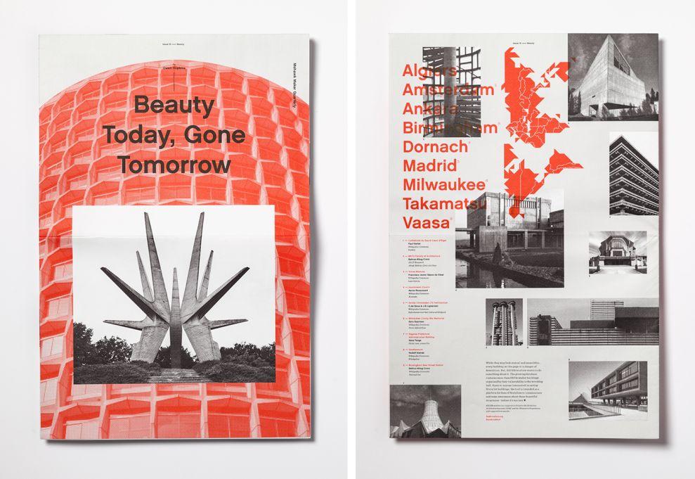 Mohawk Maker Quarterly Contemporary Print Design
